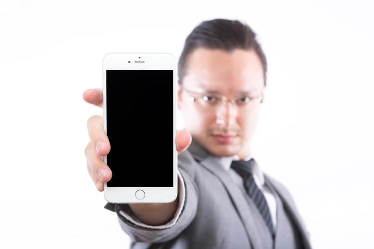 iPhone6-電源オフ