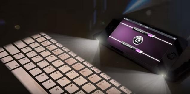 keybord-映写機
