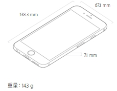 iPhone6s-サイズ