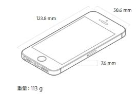iPhoneSE サイズ