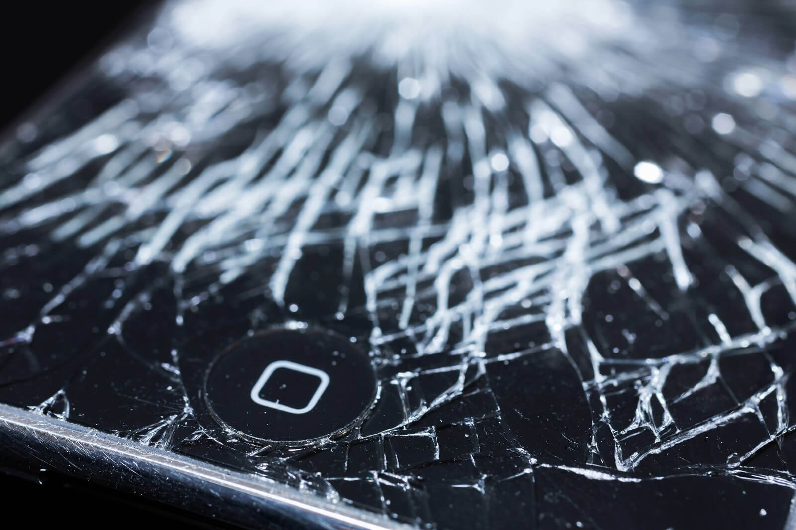 iphone-画面割れのまま