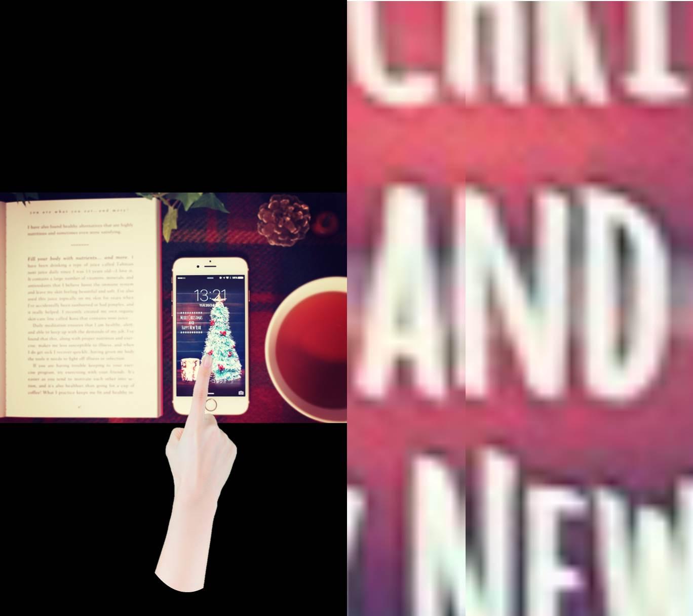 無限に拡大できた-iPhone