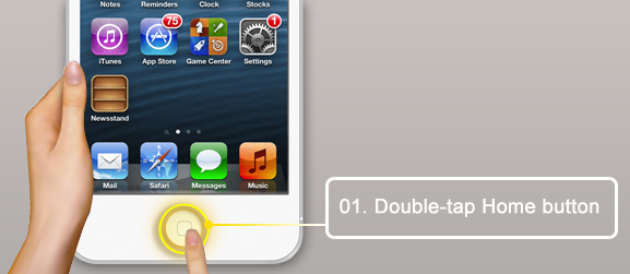 iPhone-homebotton-doubletap