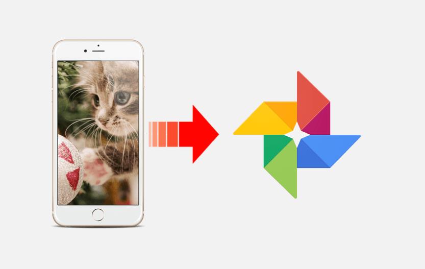 iphoneからgoogeフォトに写真をバックアップする