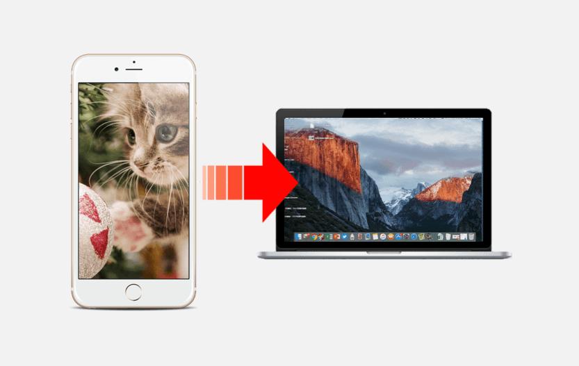 iphoneからmacに写真をバックアップする