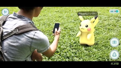 Live action version Pokemon GO 1