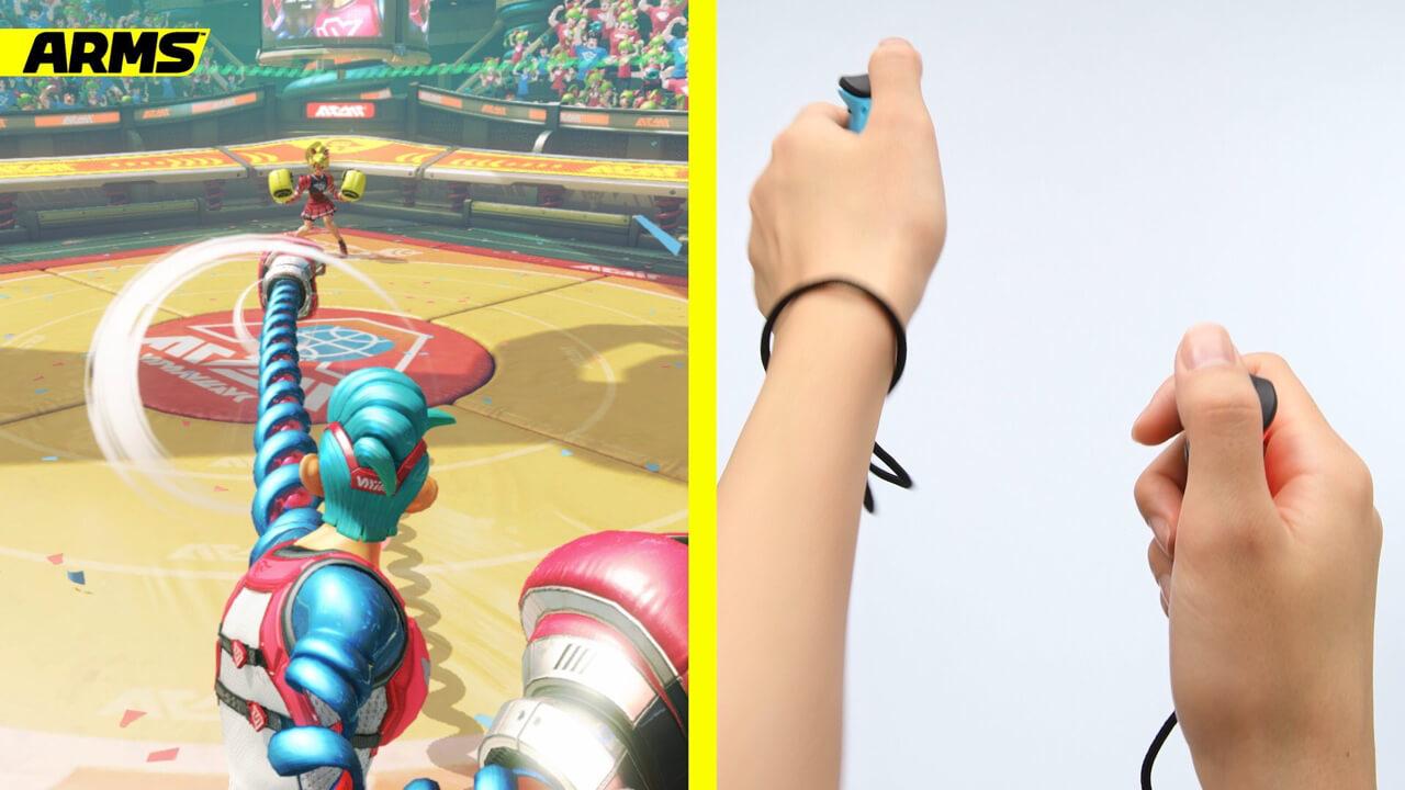 格闘ゲーム「ARMS」