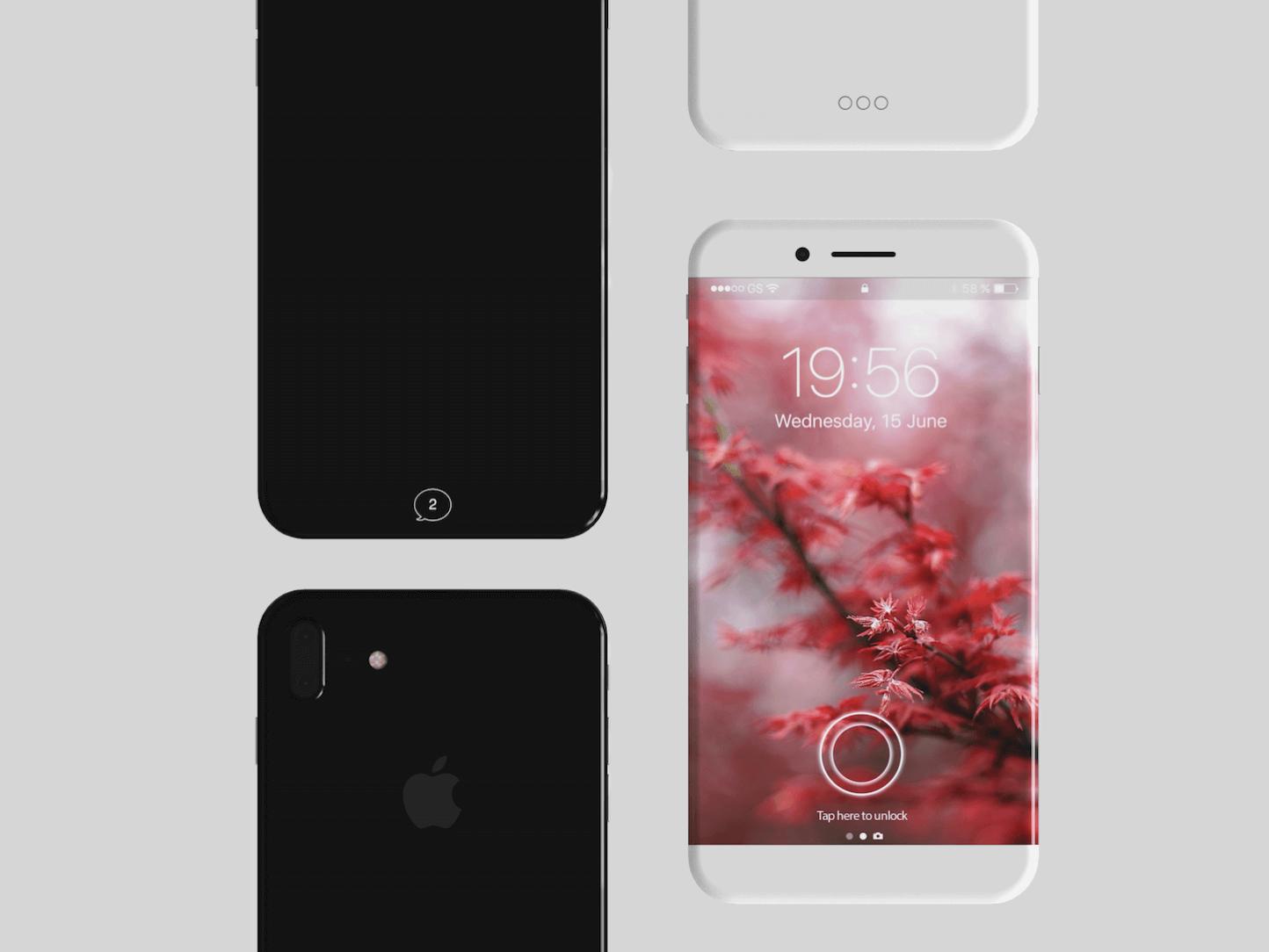 iPhone 8-ディスプレイ予想