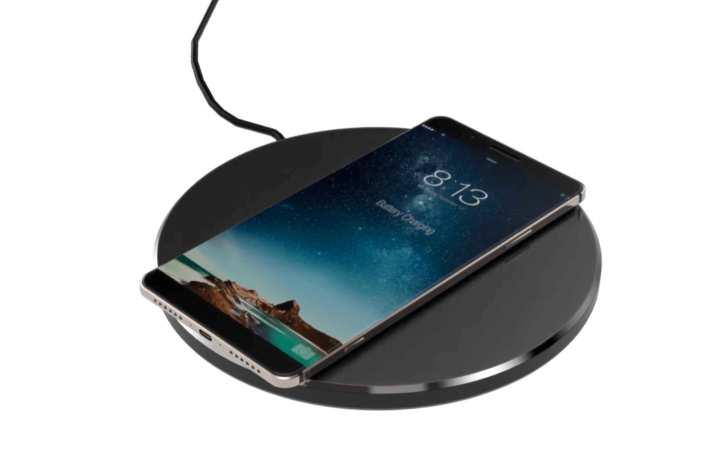 iPhone-ワイヤレス充電